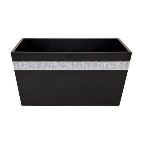Diamante Black Storage Box