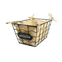 Black Wire Storage Basket