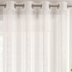 Brancaster Natural Linen Stripe Sheer