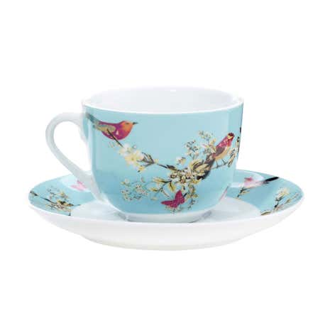 Beautiful Birds Cup & Saucer