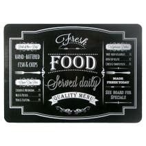 Chalkboard Pack of 4 Placemats