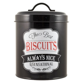 Chalk Board Biscuit Tin