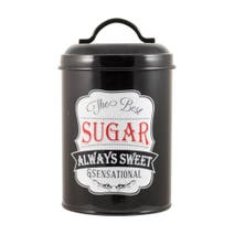 Chalk Board Sugar Canister