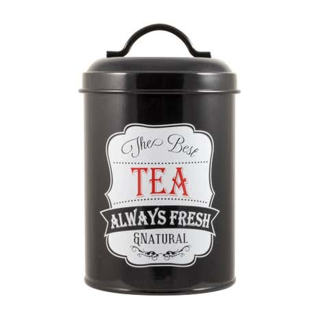 Chalk Board Tea Canister