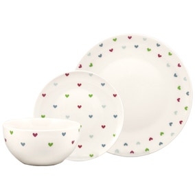 Sweethearts 12 Piece Dinner Set