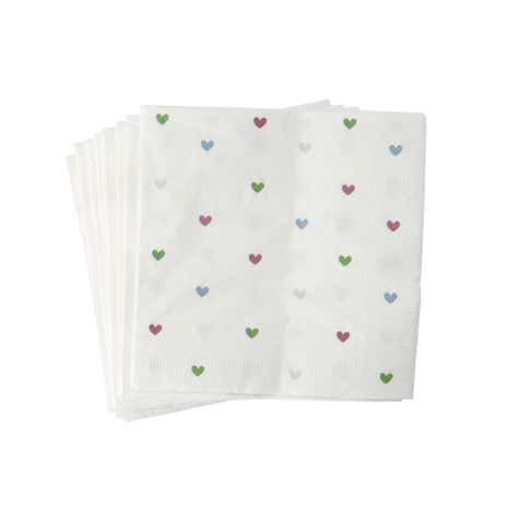 Sweetheart Paper Napkins