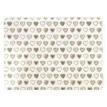 Country Heart Set of 4 Placemats