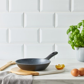Marble Stone Effect Frying Pan