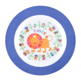 Kids Jungle Dinner Plate