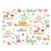Kids Woodland Cutting Board