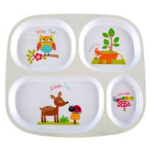 Kids Woodland Dinner Tray