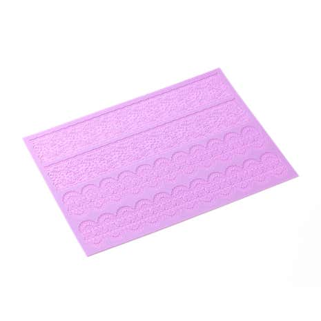 Lace Band Silicone Icing Sheet