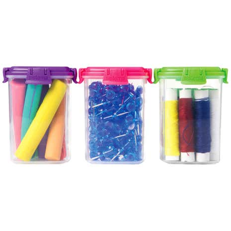Sistema Pack of Three Knick Knack To Go Containers