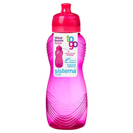 Sistema Twist n Sip 600ml Bottle Assorted Colours