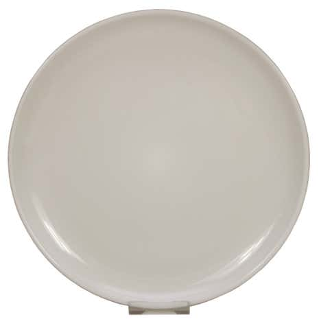 Elements Warm Grey Stacking Dinner Plate