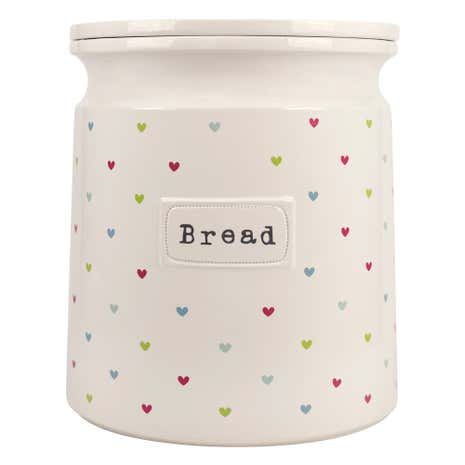 Sweethearts Bread Canister