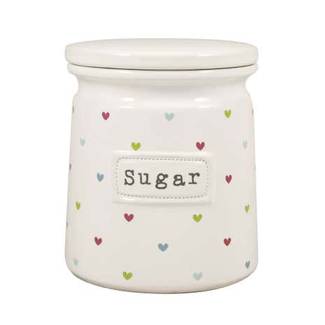 Sweethearts Sugar Canister