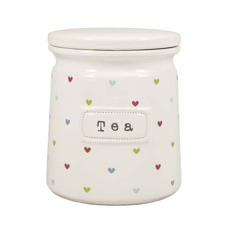 Sweethearts Tea Canister
