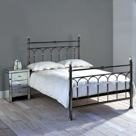 Carrington Chrome Bedstead