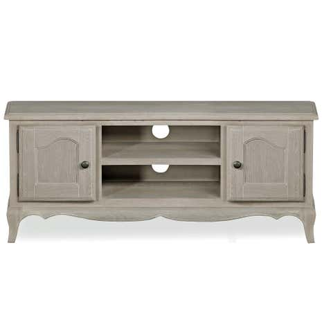Annabelle Grey Oak Wide TV Stand