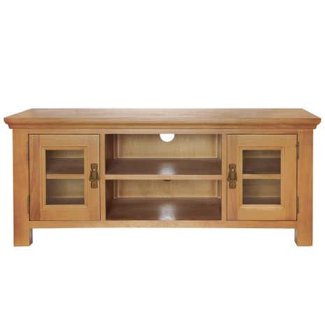 Dorchester Oak Wide TV Stand