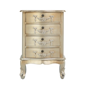 Toulouse Gold 4 Drawer Chest
