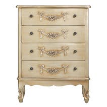 Toulouse Gold Large 4 Drawer Chest
