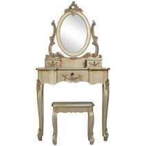 Toulouse Gold Dressing Table Set
