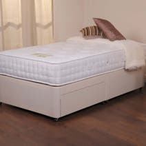 Belvoir Platform Top Divan Set with Two Drawers