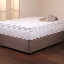 Goodrich Platform Top Divan Set with Four Drawers
