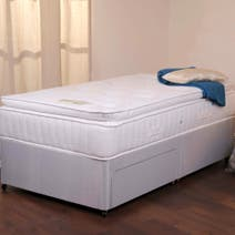 Goodrich Sprung Edge Divan Set with Two Drawers