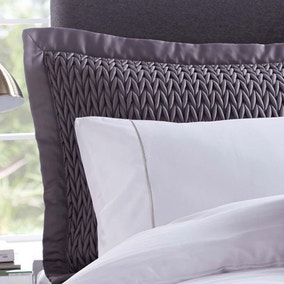 Hotel Piccadilly Charcoal Pillow Sham