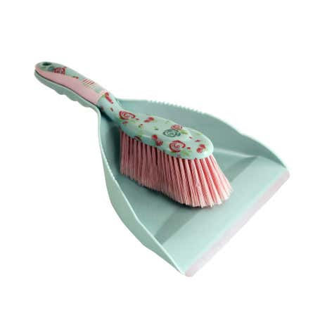 Candy Rose Dustpan and Brush Set