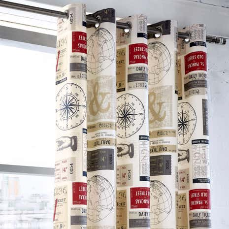 Salvage Ticket Thermal Eyelet Curtains
