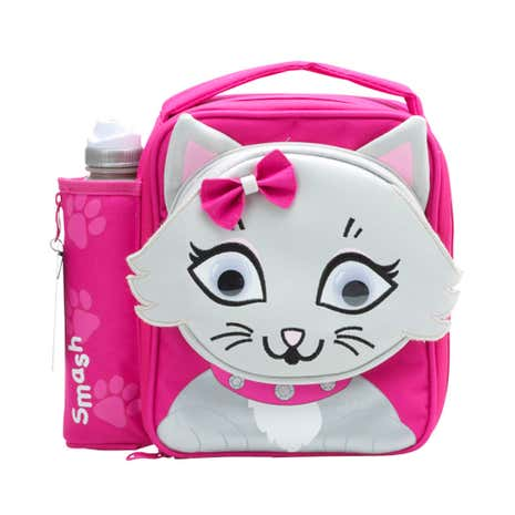 Smash Cat Bag & Bottle Set