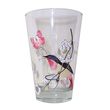 Beautiful Birds Highball Glass