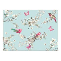Pack of 4 Beautiful Birds Placemats