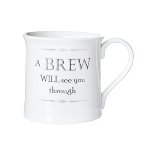 Brew Will See You Through Mug