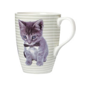 Cute Kitten Barrel Mug