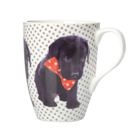 Cute Puppy Barrel Mug