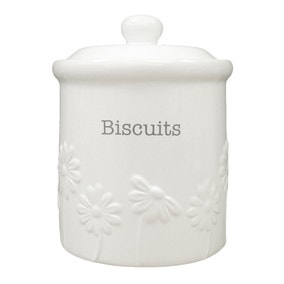 Daisy Biscuit Canister
