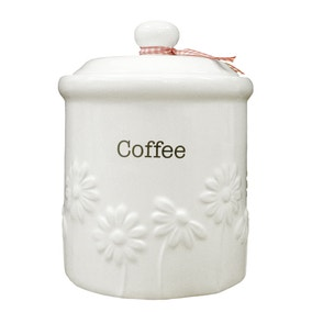 Daisy Coffee Canister