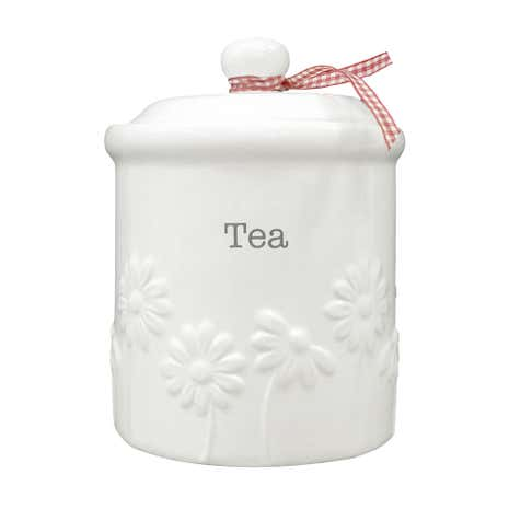 Daisy Tea Storage Canister