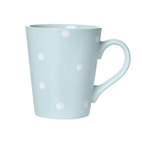 Duck-Egg Dotty Mug