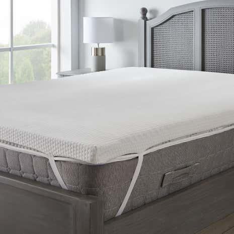 on pedic royal mattress pad pillow in topper shop twin top deal amazing