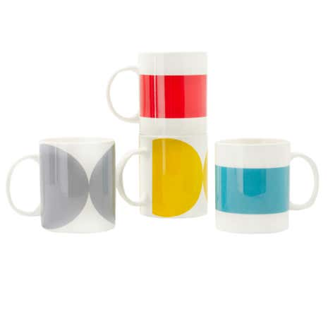 Elements Pack of 4 Mugs