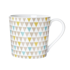 Geometric Triangle Mug