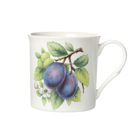 Botanical Plum Mug