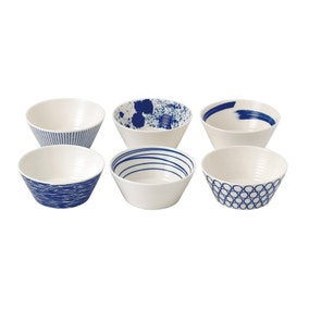 Royal Doulton Pacific Pack of 6 Bowls