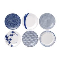 Royal Doulton Pacific Pack of 6 Side Plates